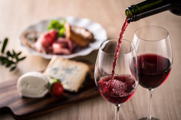 czerwone wino do walki z depresją